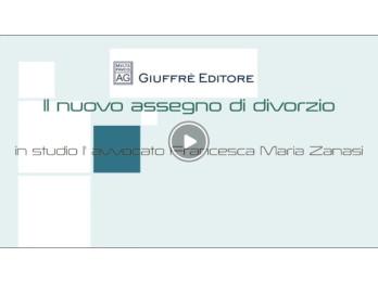 La Stampa - Nuovo assegno divorzio - in studio l'Avv. Francesca Maria Zanasi