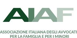 logo AIAF Associazione Italiana Avvocati per la famiglia e per i minori
